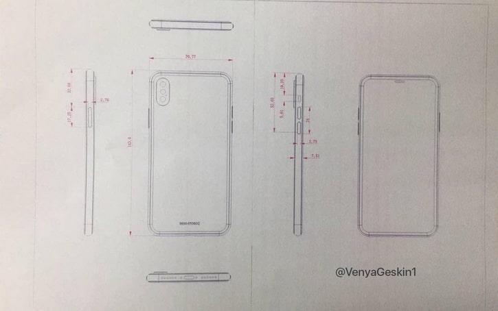 iphone 8, iphone, apple, schema
