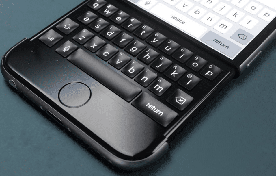 iphone clavier physique apple jobs