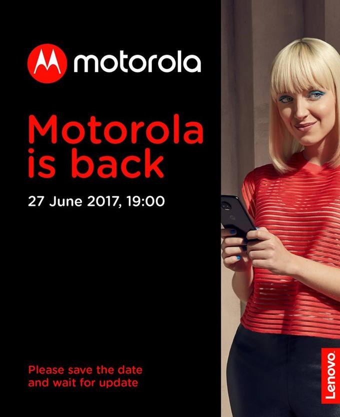lenovo motorola, evenement 27 juin 2017