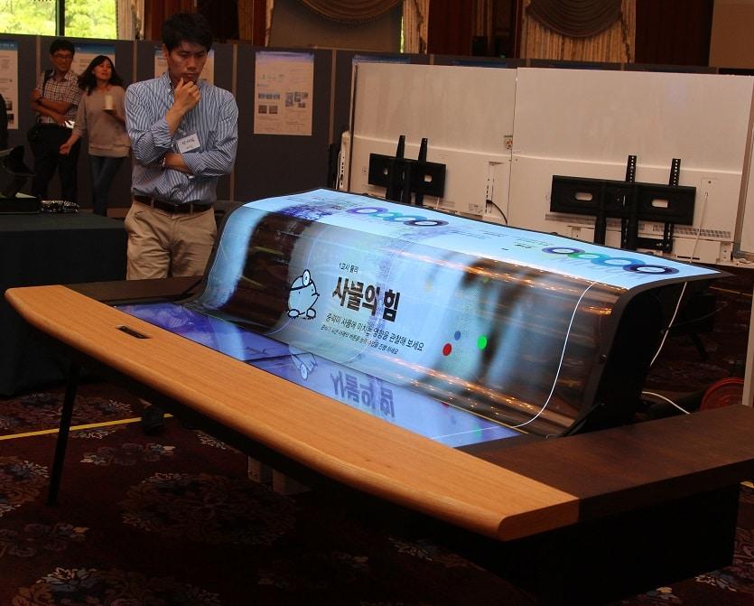 lg display, ecran souple et transparent