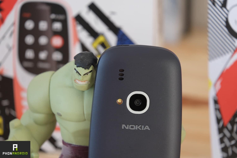 nokia 3310 2017 test appareil photo