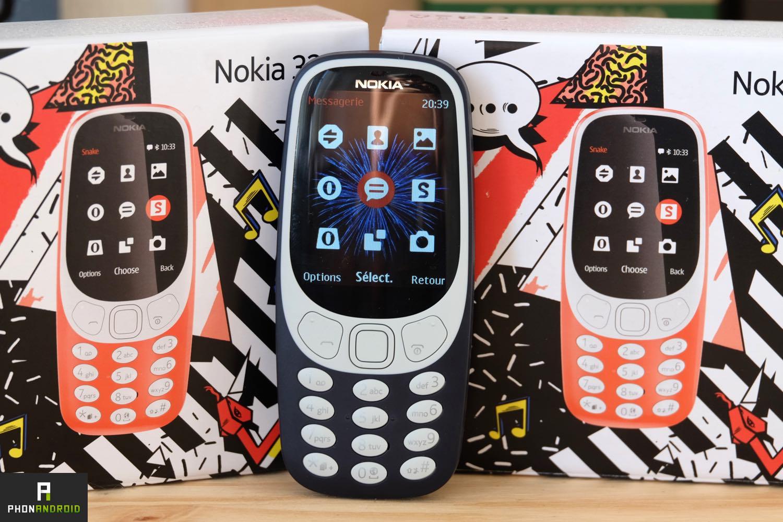 nokia 3310 2017 test prix