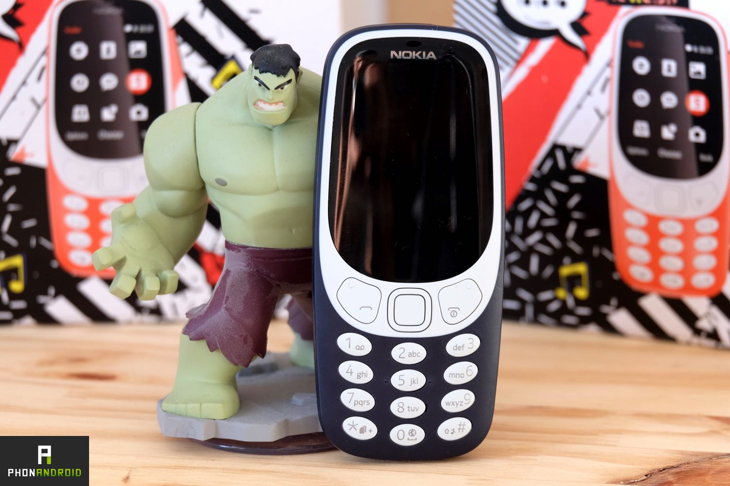 nokia 3310 2017 test solide