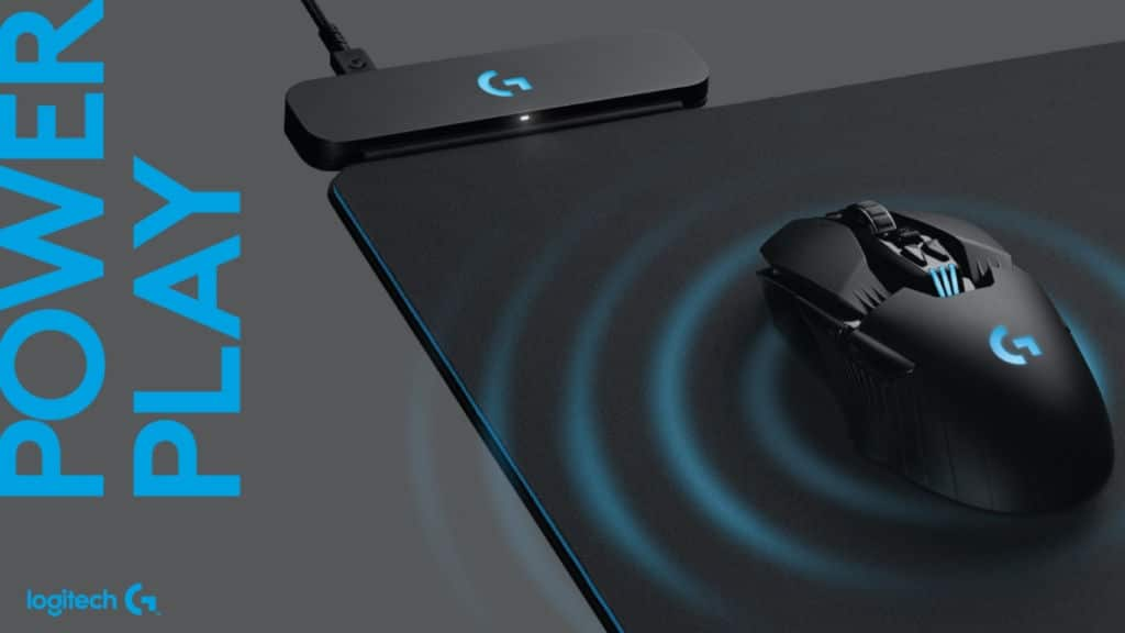 logitech powerplay sans fil