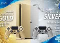ps4 gold silver edition limitee