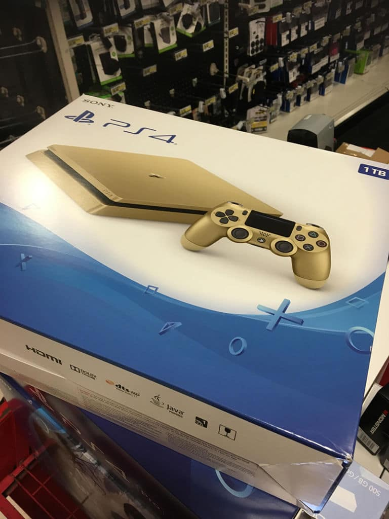 ps4, ps4 slim, ps4 slim gold, sony