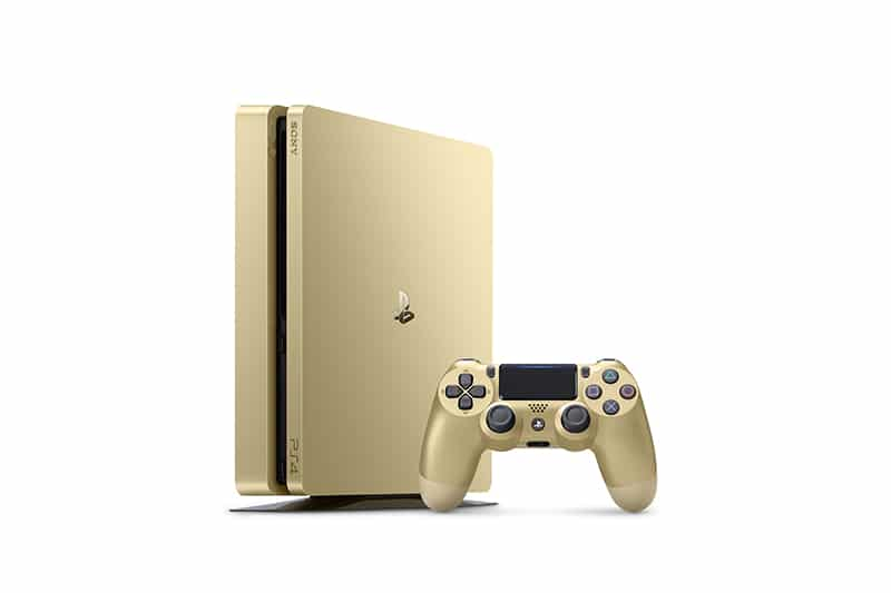 ps4, playstation, sony, ps4 slim gold