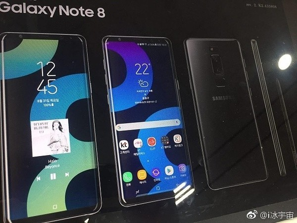 samsung, galaxy note 8, double capteur photo, scanner d'empreinte digitale