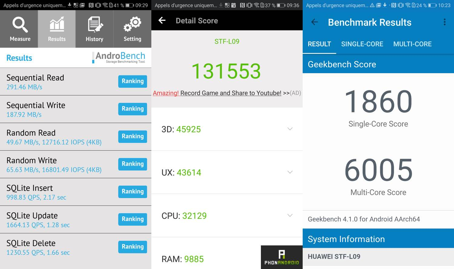 test honor 9 benchmarks