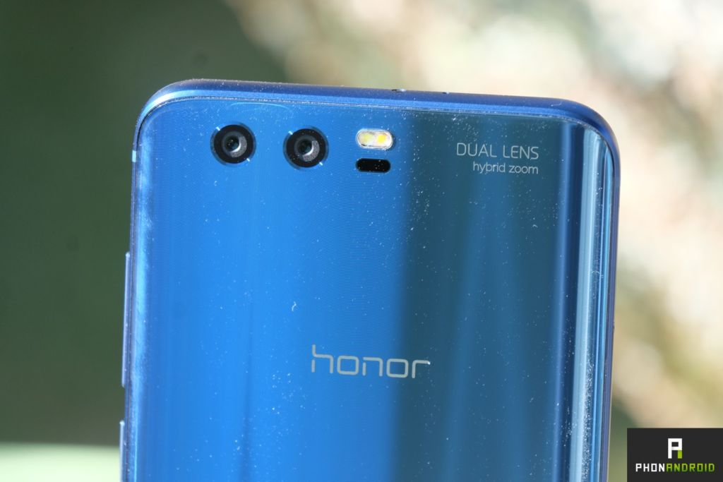 test honor 9 double capteur photo
