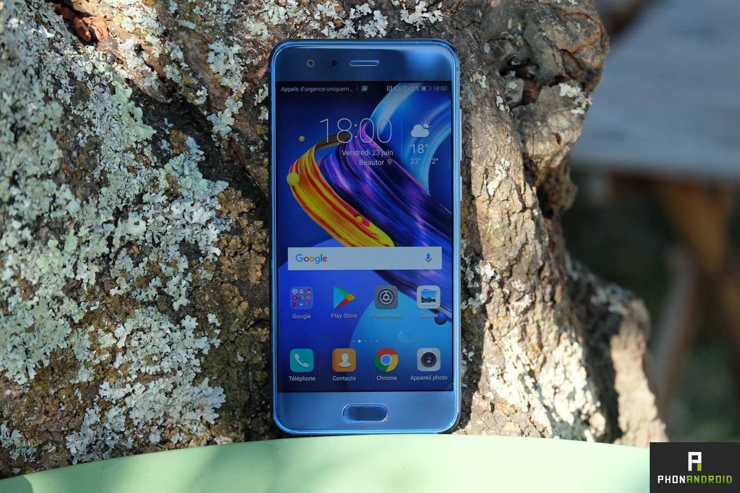 test honor 9 ecran
