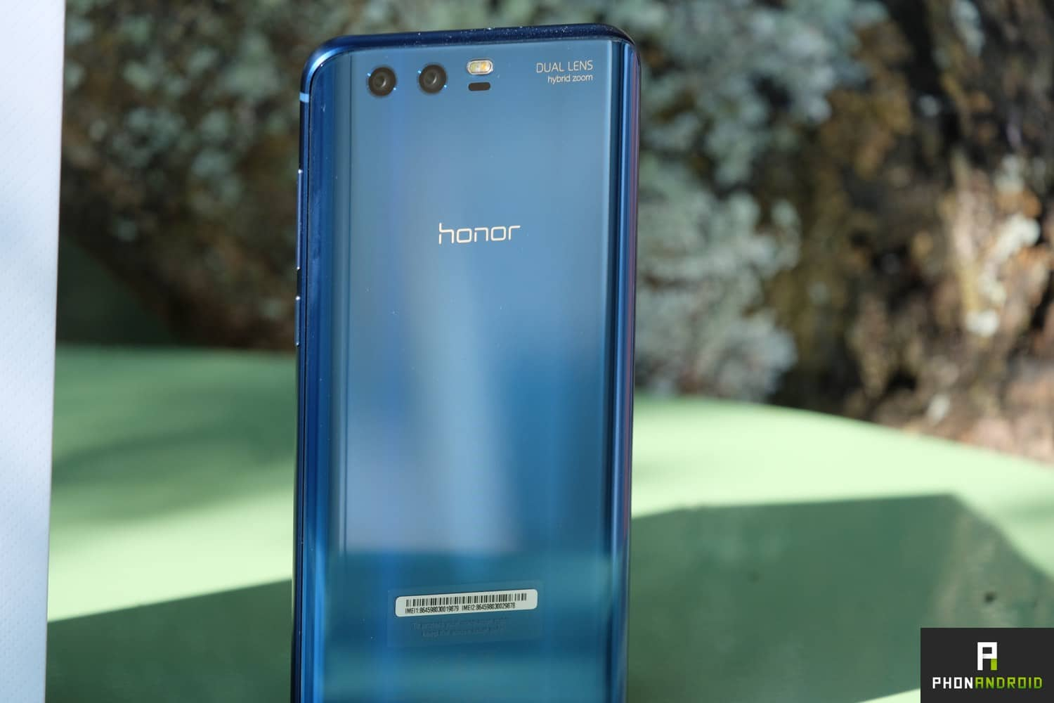 test honor 9 fiche technique