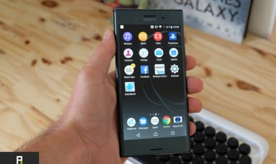 test sony xperia xz premium screen