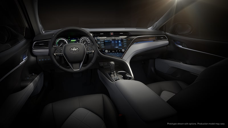 toyota, voiture connectee, linux, toyota camry 2018