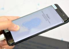 vivo prototype scanner sous ecran