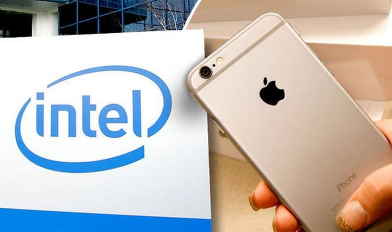 intel iphone 8 qualcomm apple modem gigabit