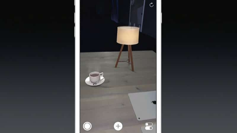 ARkit d'Apple
