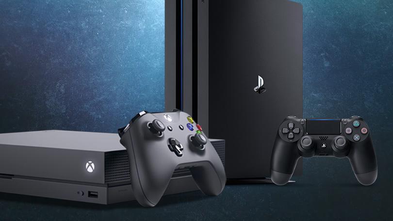 xbox one x vs ps4 pro comparatif meilleure console jeux video 4K