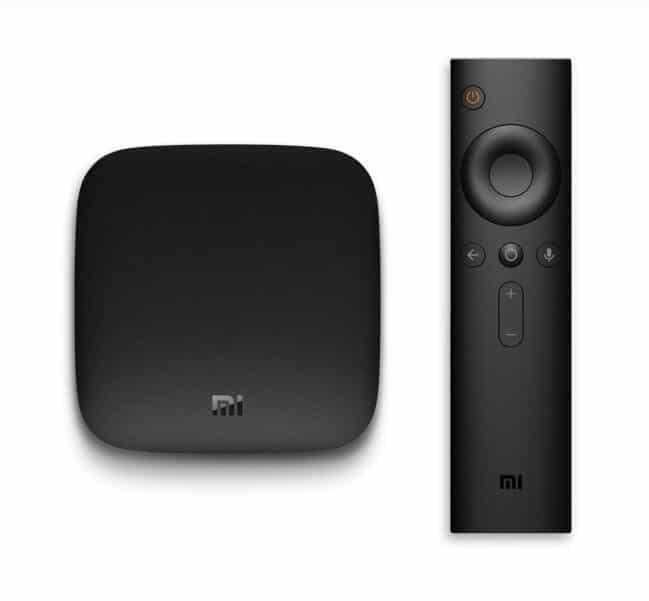 bon plan box tv xiaomi mi box 4k android tv 6 0 chez gearbest. Black Bedroom Furniture Sets. Home Design Ideas