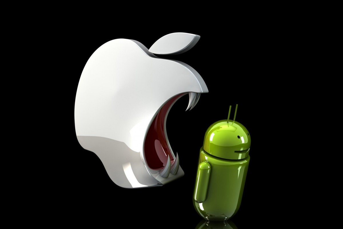 apple android vente