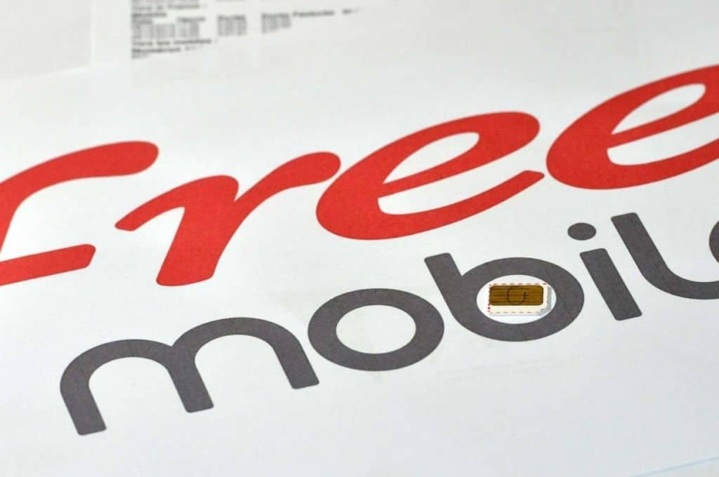 Free mobile test debit 4g+