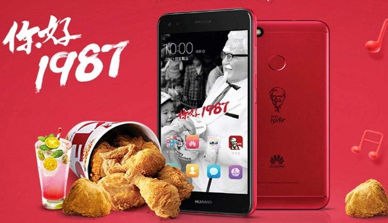 Huawei KFC smartphone