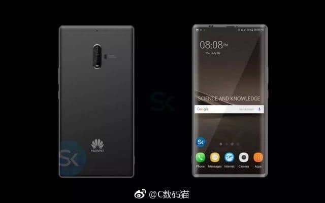 huawei mate 10 borderless