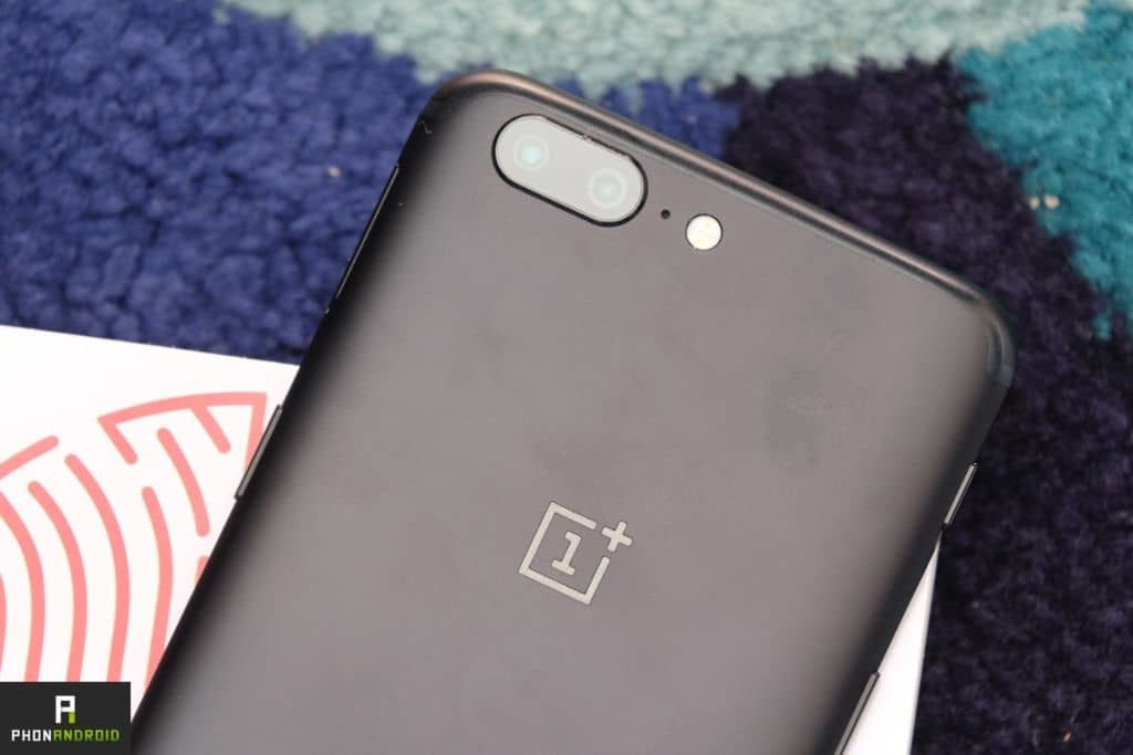 OnePlus 5 double capteur photo