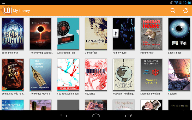 Wattpad lecture android