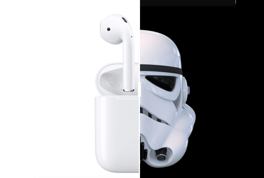airpods star wars apple obscur stormtroopers