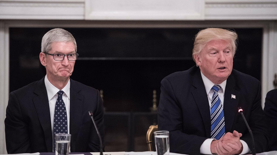 apple soudoie trump lobbying