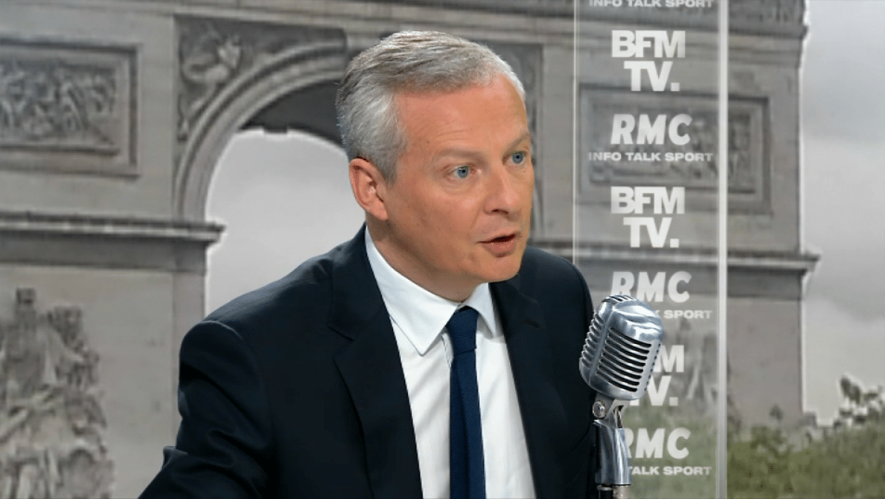 bruno le maire google optimisation fiscale