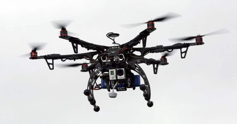drone contrôle routier