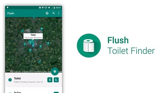 flush voyage android app