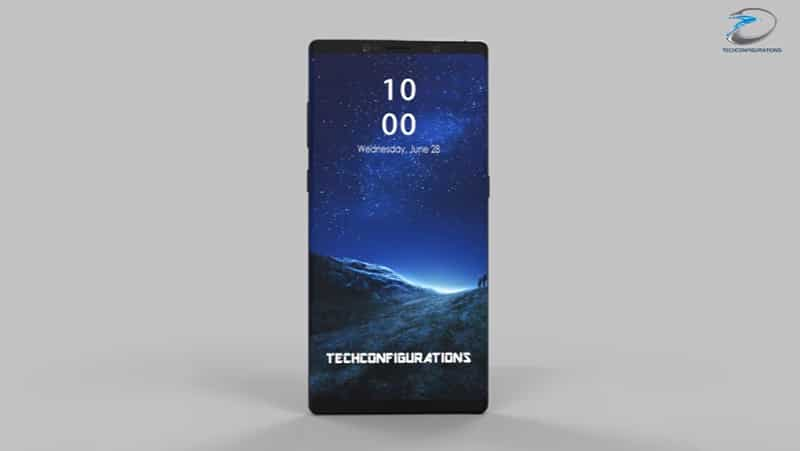 galaxy note 8 samsung design