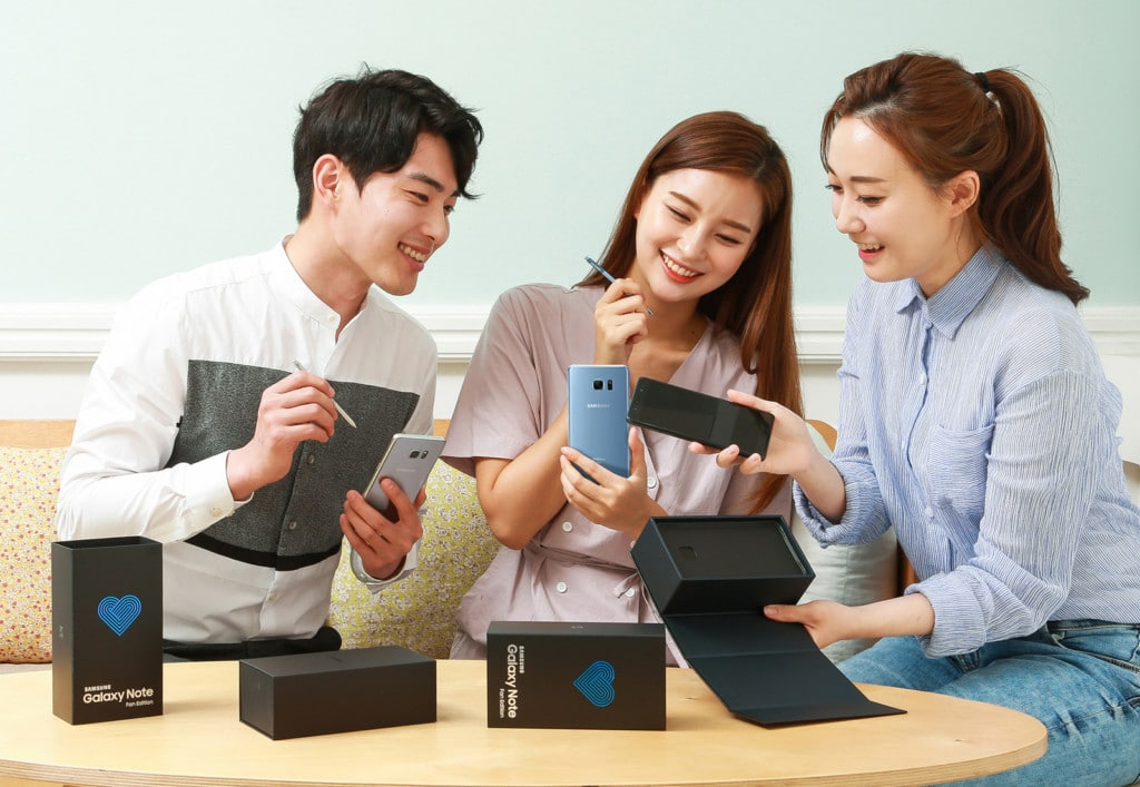 galaxy note fe, samsung, phablette, lancement