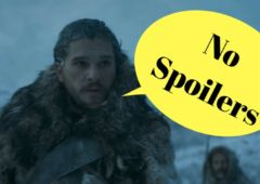 game of thrones no spoilers