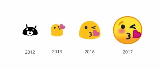 google émojis émoticônes design