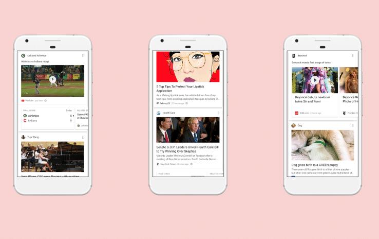 google lance un nouveau flux d 39 actualit pour concurrencer facebook et twitter. Black Bedroom Furniture Sets. Home Design Ideas