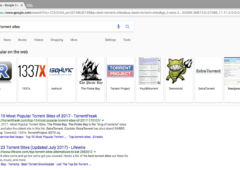 google meilleurs torrents