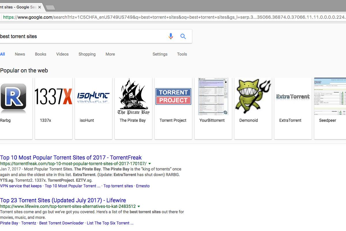 google meilleurs sites torrents