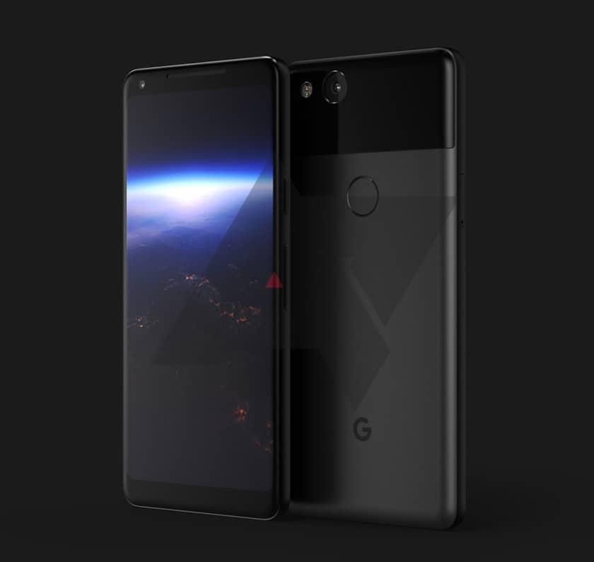 google pixel xl 2 rendu