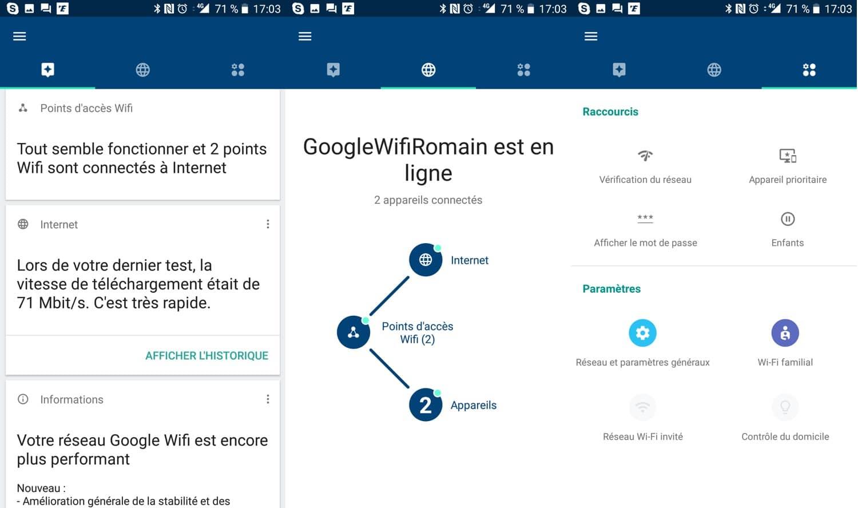 google wifi interface