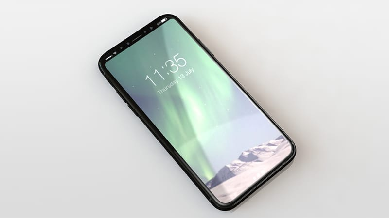 iphone 8 rendu design