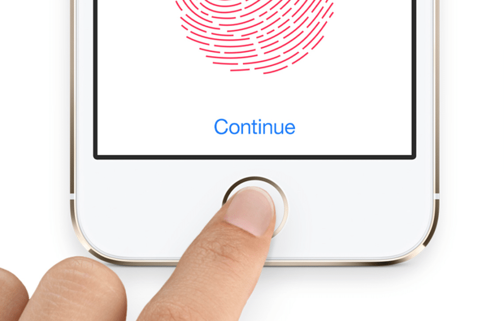 iphone apple touch id police brevet