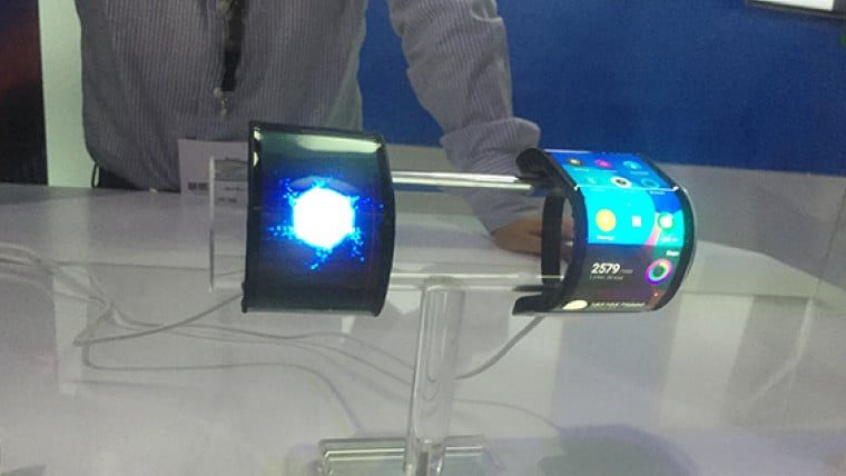 lenovo cplus concept smartphone cuir flexible