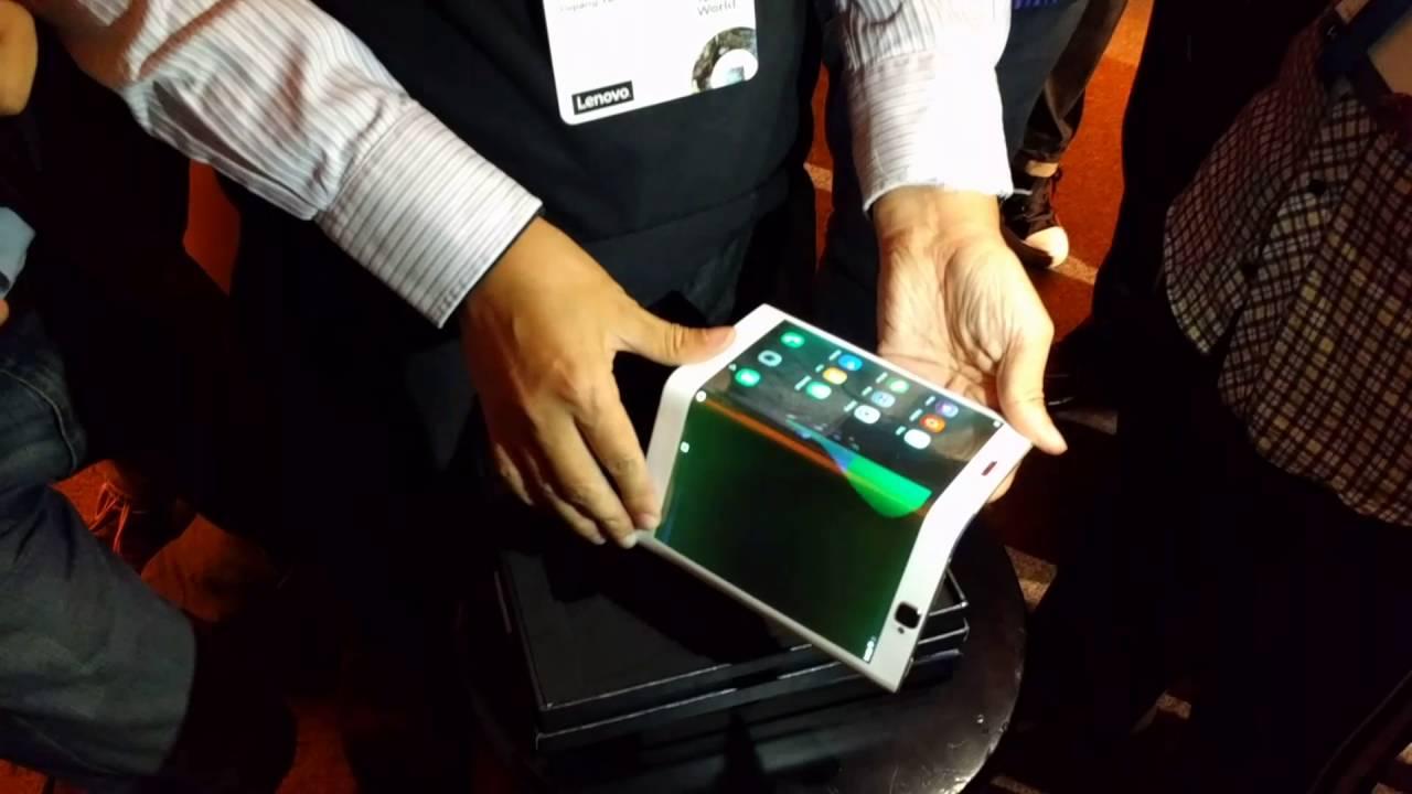 lenovo tablette pliable