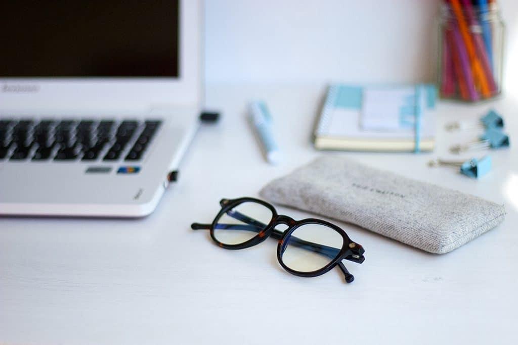lunettes anti lumiere bleue