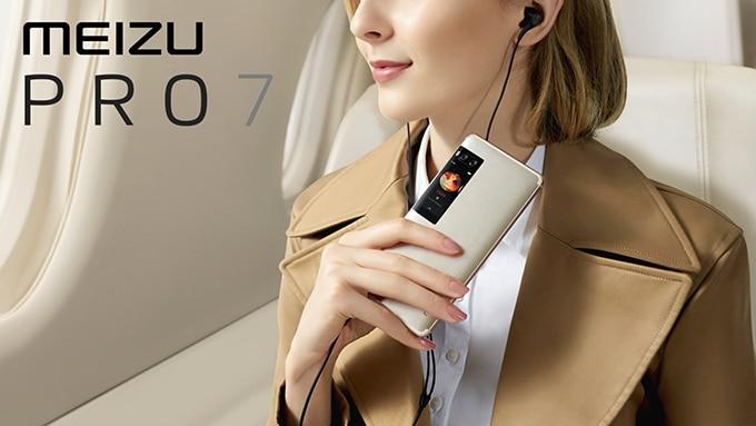 meizu pro 7 ecran e-ink dorsal smartphone
