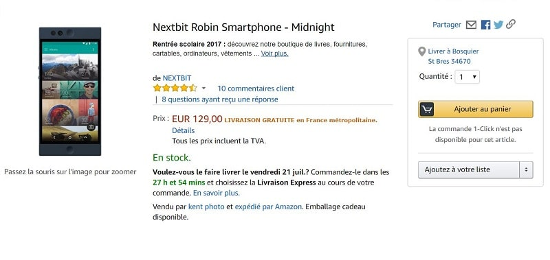 nextbit robin amazon
